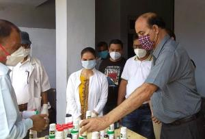 ISM distributes immunity booster kits at Basohli