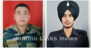 2 jawans martyred in Pak firing along LoC in Rajo...