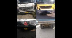 8 vehicles engaged in illegal mining seized