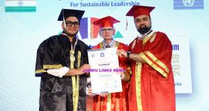 Babar Afzal honored with WPDO Paramount Medallion...