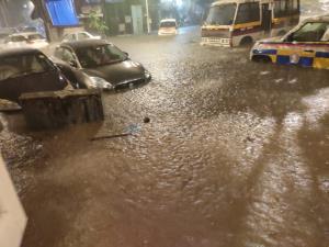 Heavy rains lead to waterlogging, disrupt traffic...