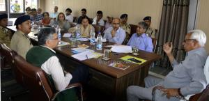 Governor visits Yatri Niwas to review Amarnathji ...