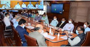 MoS Home, Lt Governor review administrative, deve...