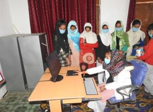 Army provides computers to students in Poonch