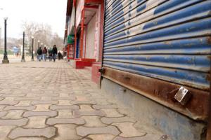 Separatist shutdown affects life in Srinagar