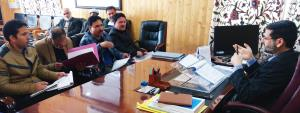 DDC Bandipora reviews functioning of RDD, impleme...
