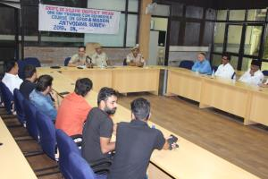 Police-public meet held