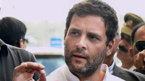 Rahul Gandhi targets Prasad for pendency of cases