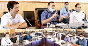 Bhagat reviews functioning of L&E Department at G...