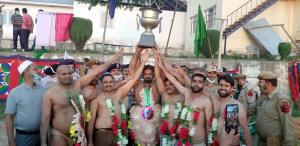 IRP organises Wrestling competition