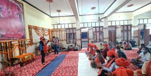 Mata ki Chowki program organised at historical Ch...