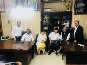 Commissioner Secretary Law meets Jammu Bar members