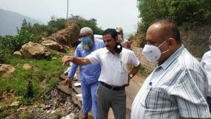 DDC Kathua inspects dev works during extensive to...