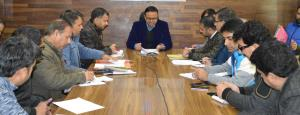DDC Doda reviews arrangements of National Voters ...
