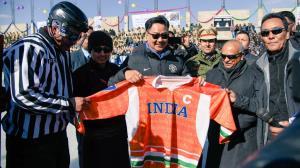 Kiren Rijiju inaugurates 1st Khelo India Winter G...