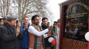 Union Minister G Kishan Reddy visits Ganderbal