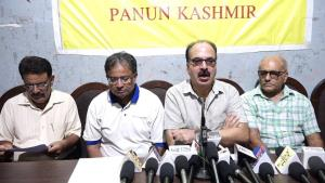Panun Kashmir cautions against involvement of hal...