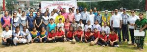 Girls Inter-School Kabaddi, Kho-Kho, Volleyball c...