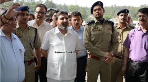 Altaf Bukhari pays maiden visit to Lakhanpur