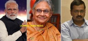 PM Modi, Kejriwal condoles Sheila Dikshit