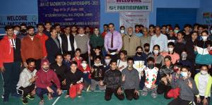 47th UT level Badminton Championship commences