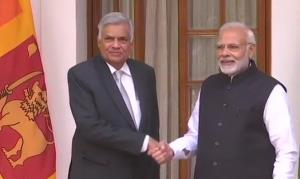 Sri Lankan PM meets PM Modi
