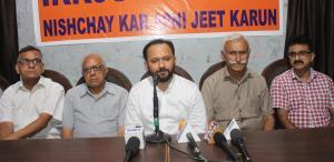 Advocate Ankur launches 'Ikkjutt Jammu' campaign