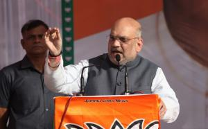 Congress, terrorists on same frequency: Amit Shah