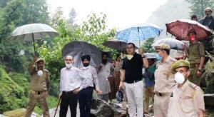 PCCF visits Ramban, Mahore, Reasi Forest Division...