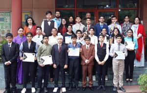 Jodhamal students shine in various MUN Conferences