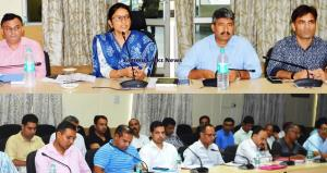 ULB Polls: DC Samba chairs meeting of Nodal Offic...