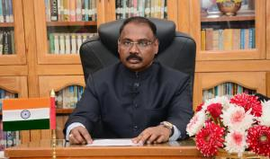 Day after he resigned as J&K LG, GC Murmu appoint...