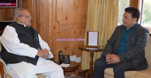 MLA Ganderbal calls on Governor