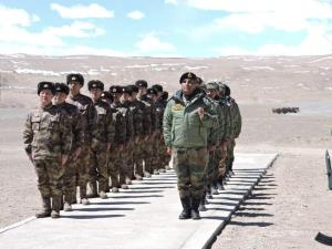 Indian and Chinese armies hold border meet in Lad...