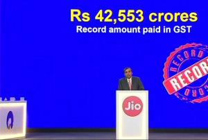 Mukesh Ambani announces launch of fixed line serv...