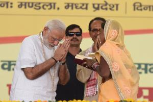 Modi launches Rashtriya Gram Swaraj Abhiyan to st...
