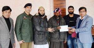 DC Poonch provides cash relief to cross border sh...