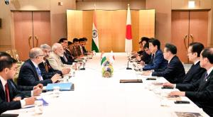 PM Modi holds talks with Abe