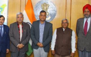 EC special observers meet CRPF brass on holding J...