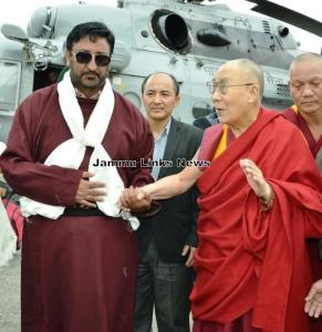 Dalai Lama arrives in Zanskar