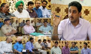 DC Kupwara convenes grievancesredress camp at Tan...
