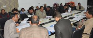 DC Jammu reviews development works under BADP
