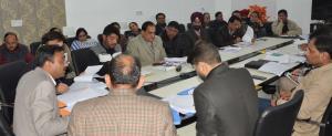 DC Jammu reviews development works under BADP