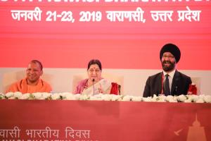Youth Pravasi Bharatiya Divas begins; Swaraj says...