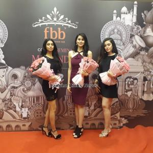 J&K scouts its top 3 girls at the fbb Colors Femi...