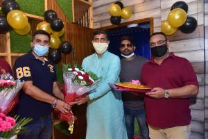 Page 3 Salon & Café Lounge inaugurated in Jammu