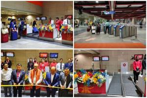 Delhi Metro opens check-in for GoAir, SpiceJet, A...