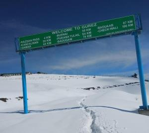 Gurez valley, Karnah in north Kashmir receives se...