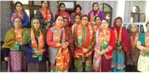 BJP Mahila Morcha holds 'Mahila Jodo Abhiyaan'