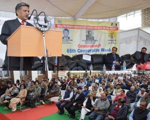 Advisor Ganai inaugurates 65th Cooperative week